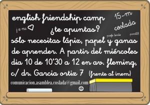 english friendship camp