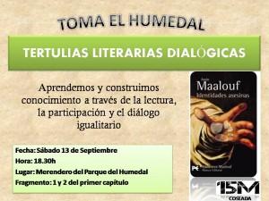 Tertulia 13 sep_Maalofu Identidades asesinas